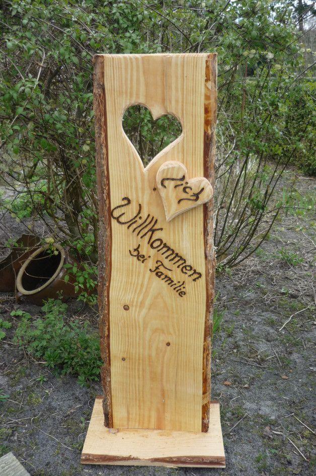 Herzlich willkommen mit diesem schild wird jeder gast jeder besuch freundlich empfangen - Dekoration eingangsbereich ...