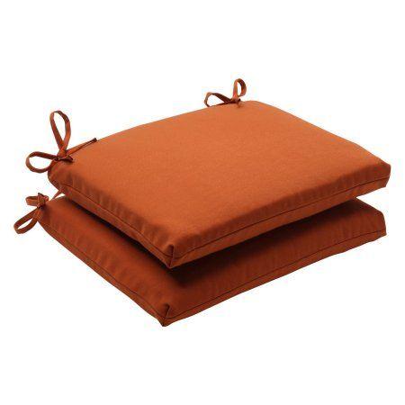 Pillow Perfect Outdoor Indoor Cinnabar Burnt Orange