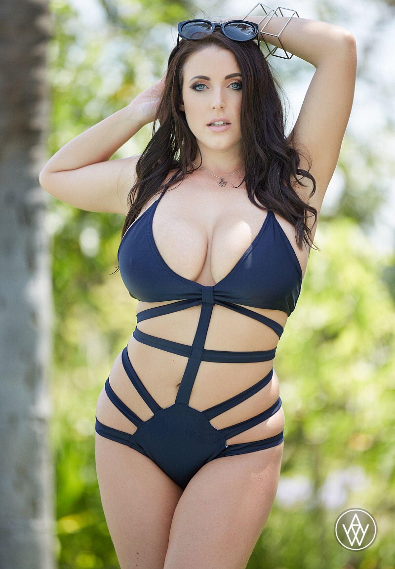 Nude woman pornstar white