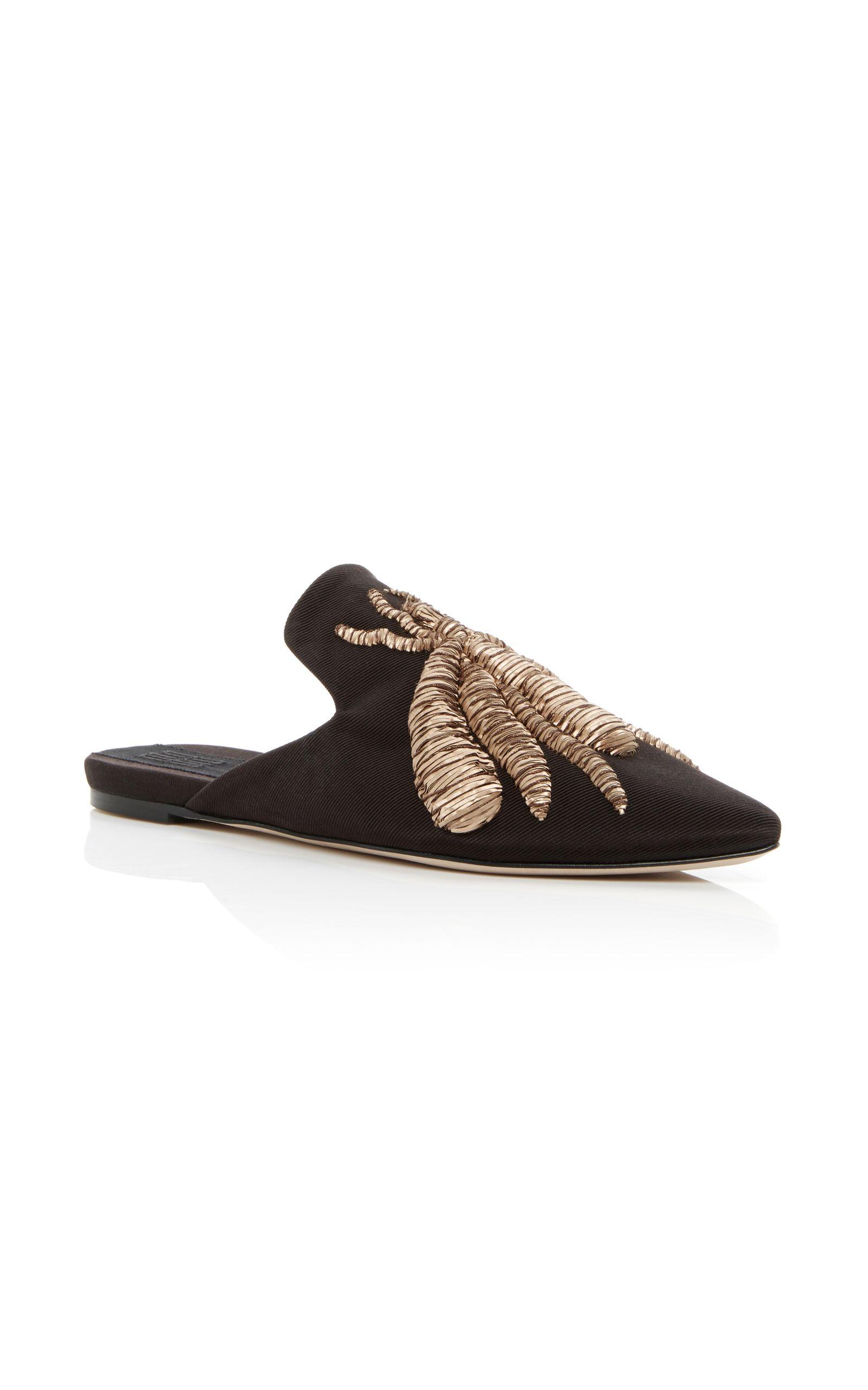 9c188d6cbdd7 SANAYI 313 Embroidered Slippers.  sanayi313  shoes  flats