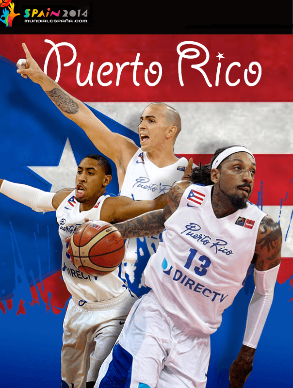 Puerto Rico y su selección para el Mundial de Baloncesto 2014 #SPAIN2014