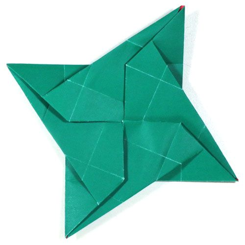 How To Make A New Origami Ninja Star Iv Httporigami Make