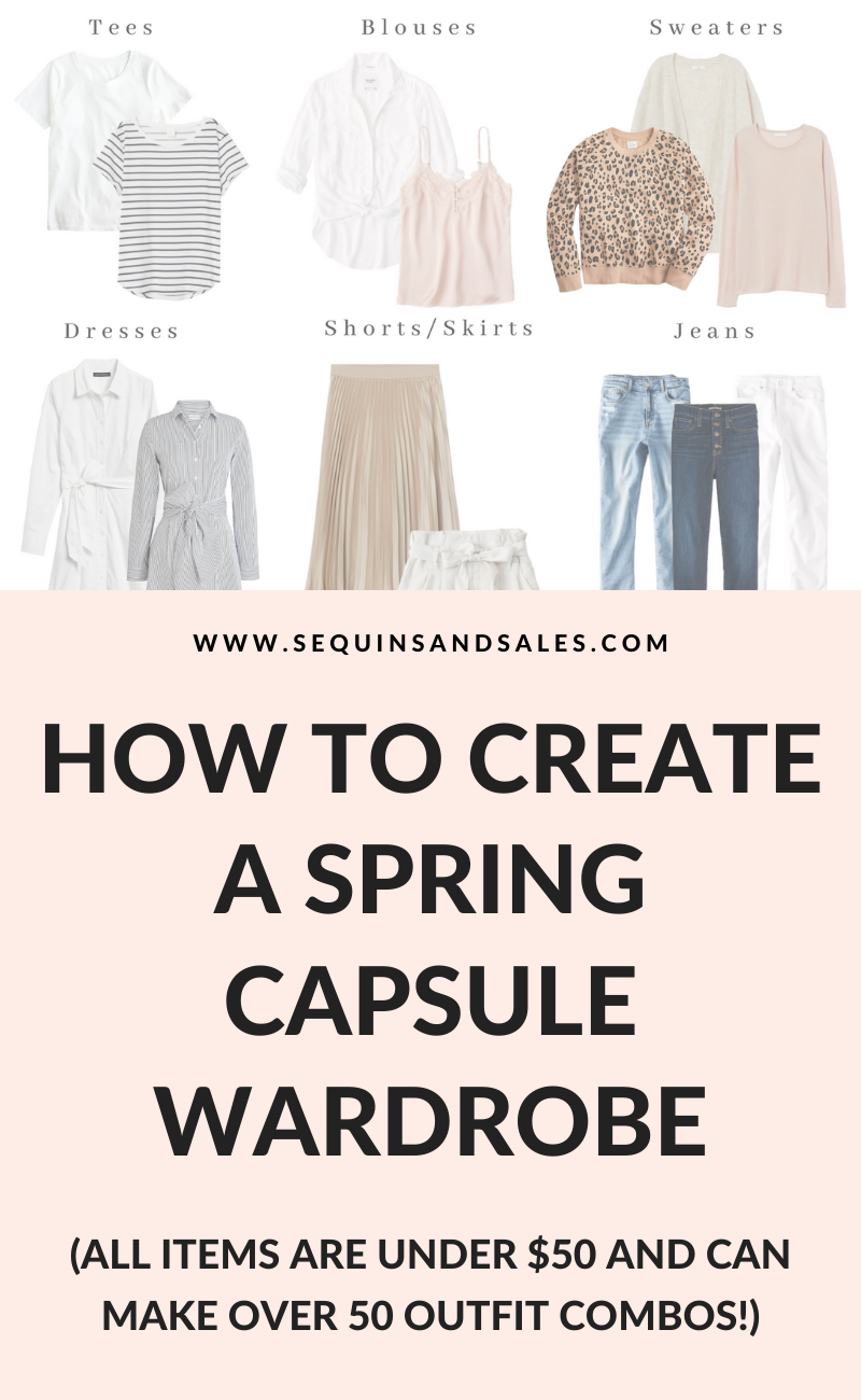 How to Create a Spring Capsule Wardrobe