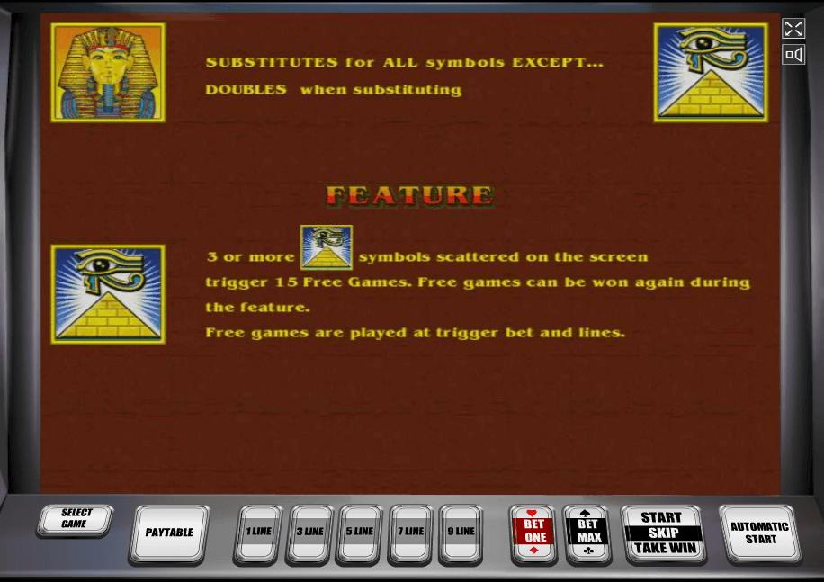Бесплатная игра на игровых автоматах Pharaohs gold 2
