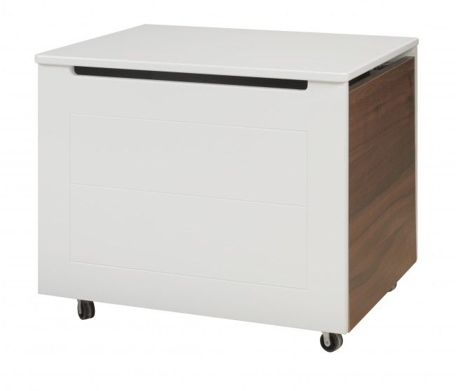 Toy Box White And Olive