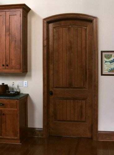 Solid Maple Sante Fe 8 ft Interior Wooden Doors Ideas | Home Decor ...
