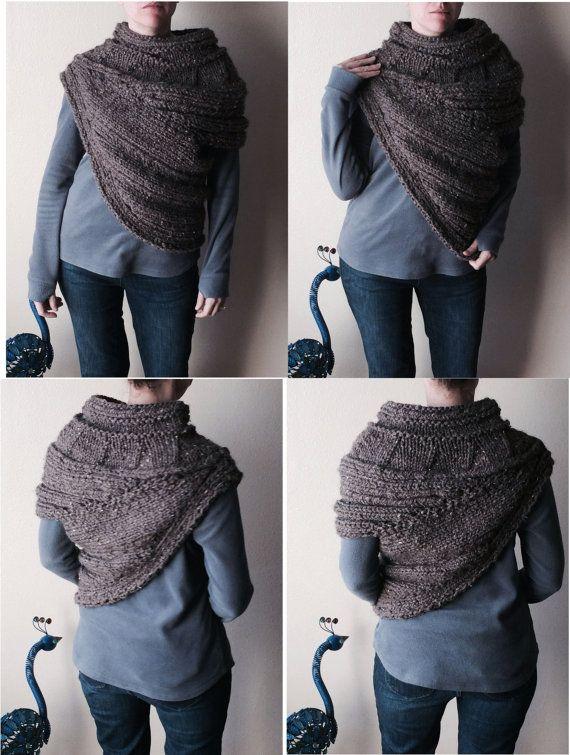 Pattern Pdf Pattern For Diy Panem Katniss Inspired Cowl Two