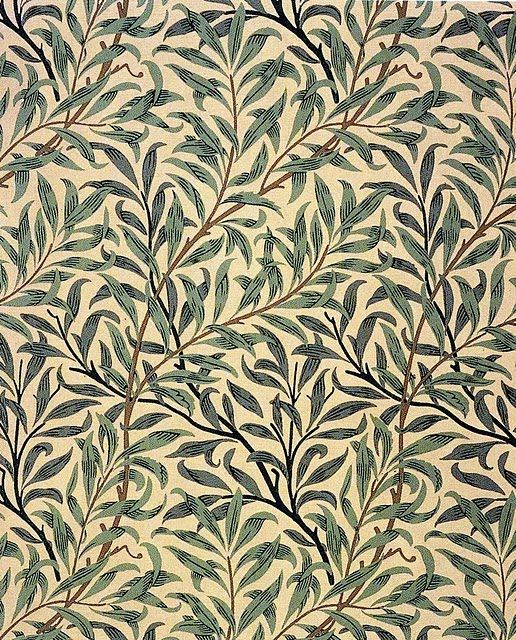 William Morris Wallpaper Willow Bough This Is My Favourite One We Once Had It In Our Dining Room