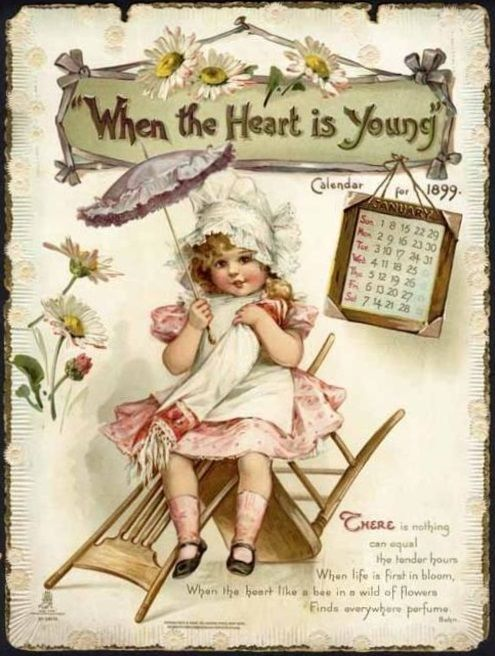 When the Heart is Young (Bingham Burnside) January 1899
