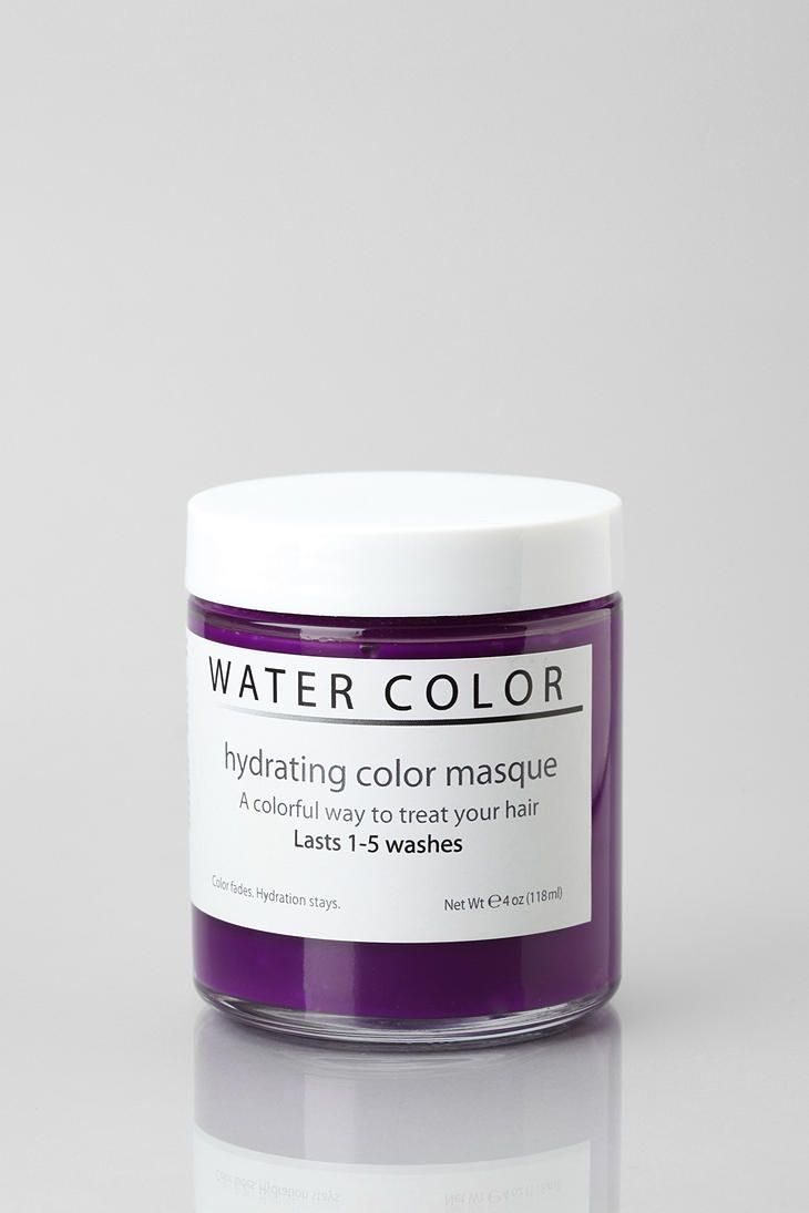Water Color Hydrating Hair Color Mask Hydrate Hair Hair Color