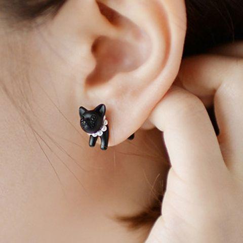 Super Cute Cat Earring