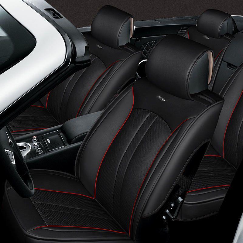3D Styling Sport Car Seat Cover Cushion For Hyundai I30 Ix35 Ix25 Elantra Santa Fe Sonata
