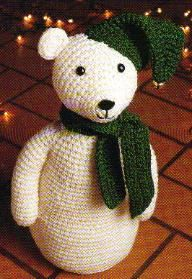 Snowbear free Ami pattern. Oh so fine, thanks so for the lovely share xox