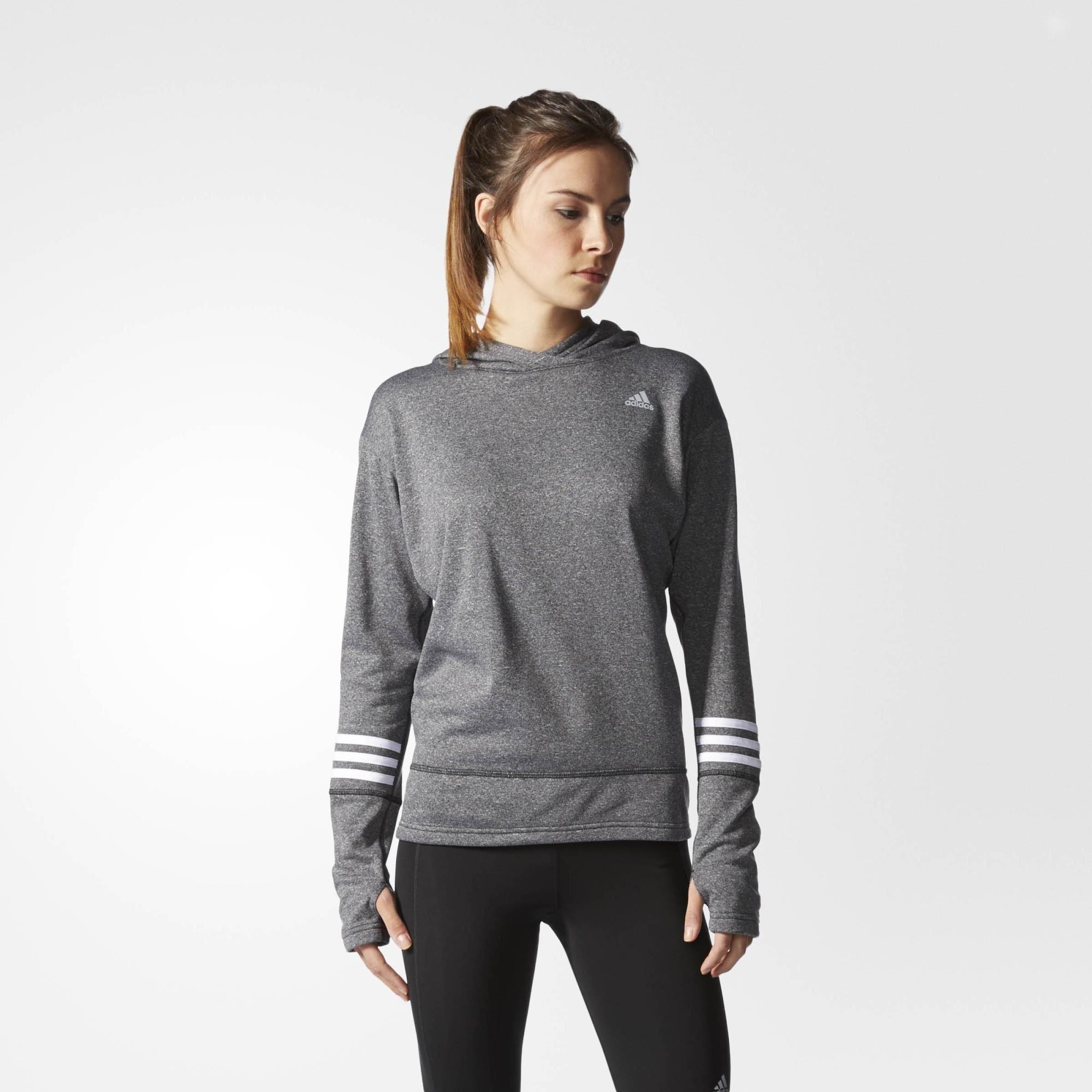 Adidas Women's Response Icon Hoodie sweatshirt