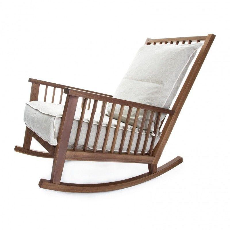 Gervasoni gray 09 schaukelstuhl my rocking chair for Schaukelstuhl 50er 60er