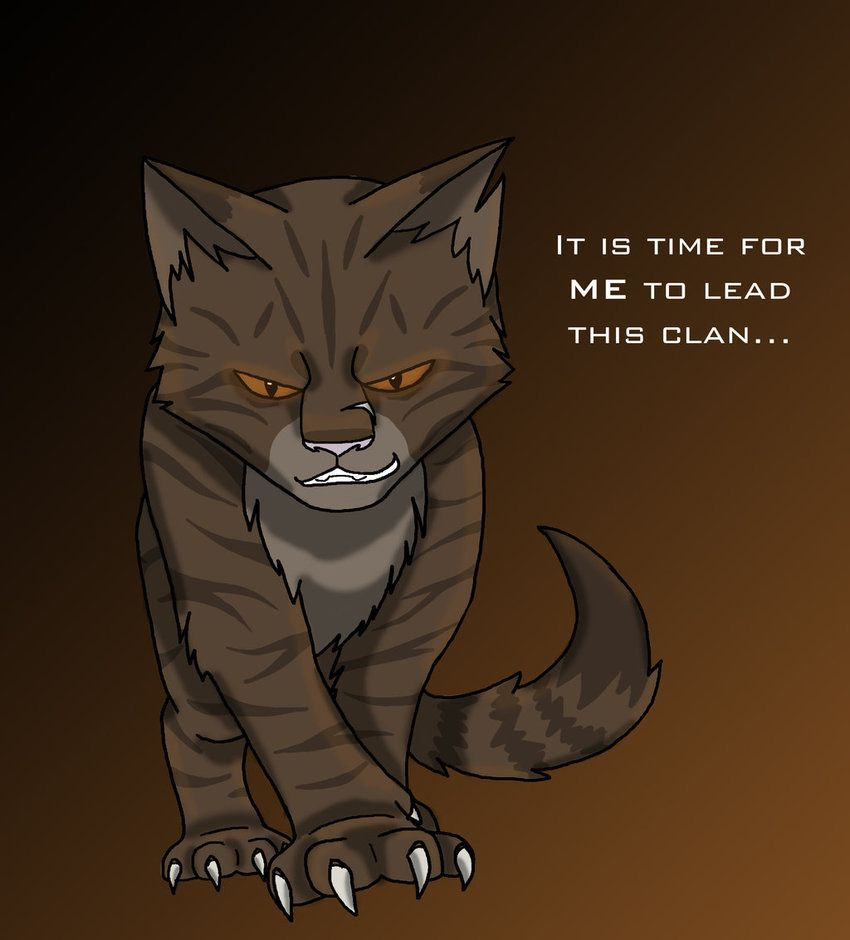 Warriors Into The Wild Manga: Tigerclaw Quote - Warrior Cats