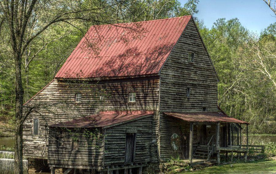 Woodsons Mill in Beaverdam, VA by Sean Toler, via 500px