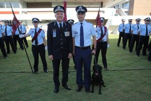 Induction Ceremony Sees 71 New Recruits And 3 New Police Dogs