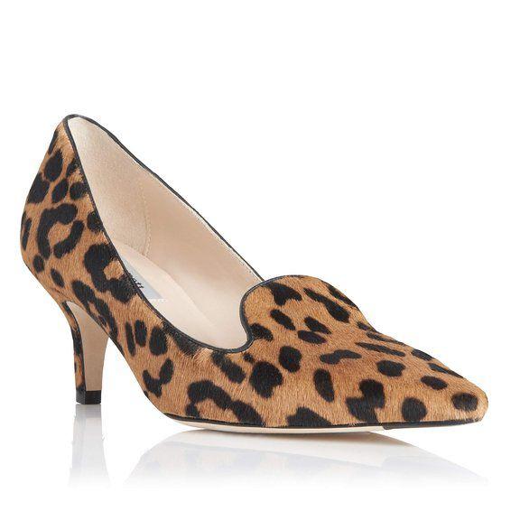 Marie Leather Slipper Cut Point Toe Court Shoe | Court Shoes | Shoes | L.K.Bennett, London