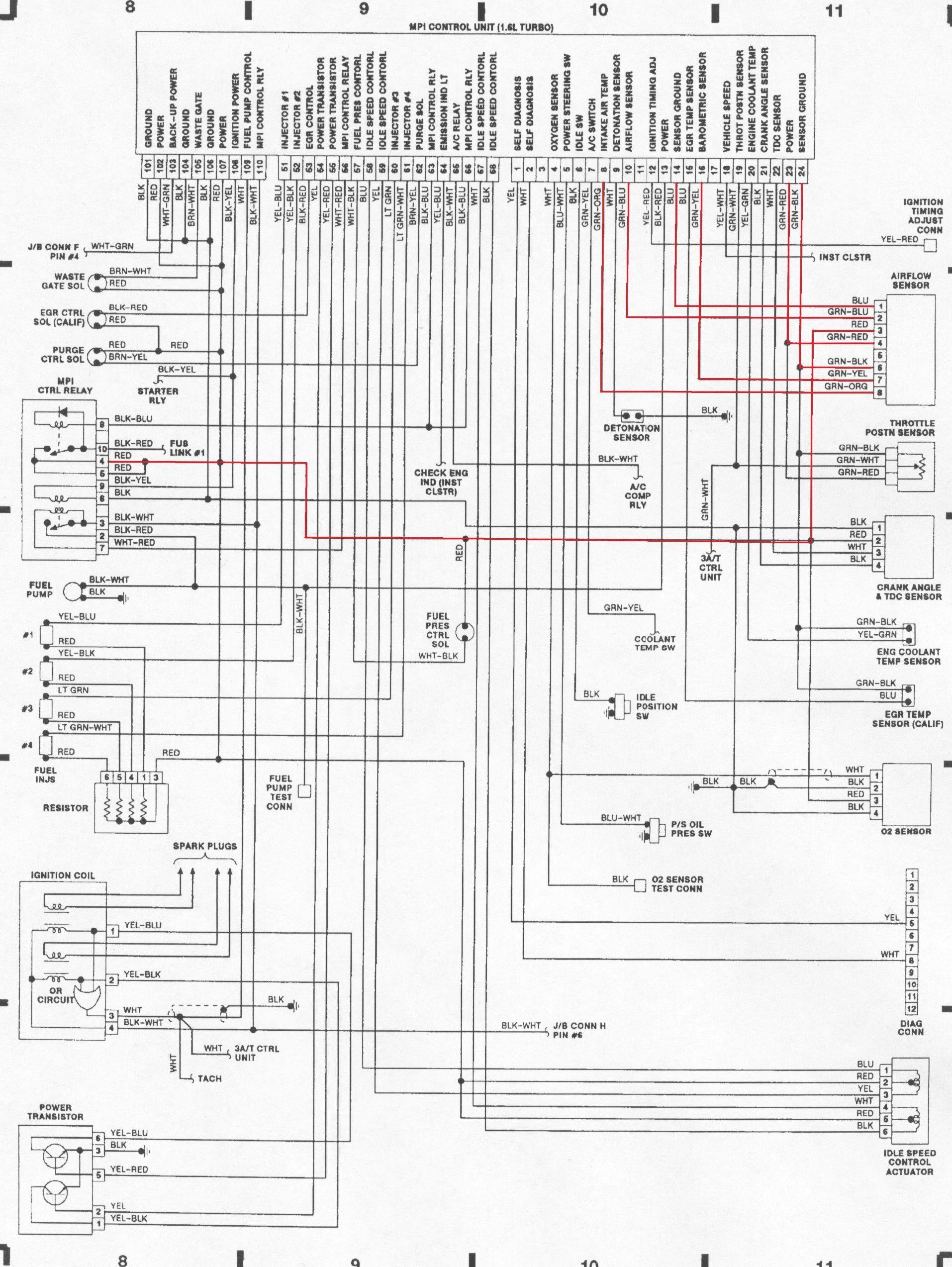 Engine Wiring Diagram Pdf In 2020 Mitsubishi Mirage Mitsubishi Vw Super Beetle