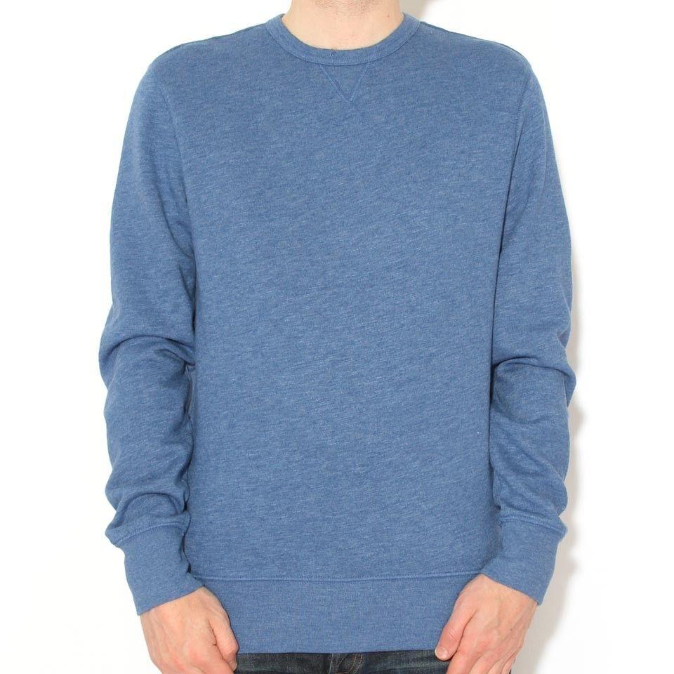 Levis Heather Fleece Pullover True Blue @wellgosh