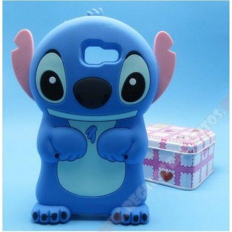 Funda Silicona Disney 3D Lilo & Stitch Iphone 5 Color: Azul
