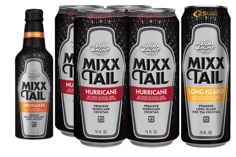 Bud Light Mixxtail, a beer cocktail hybrid from Anheuser