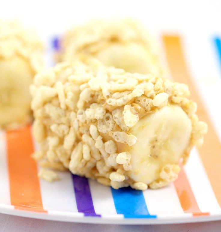 Banana Cereal Snacks- An Easy, Healthy Snack Idea For Kids