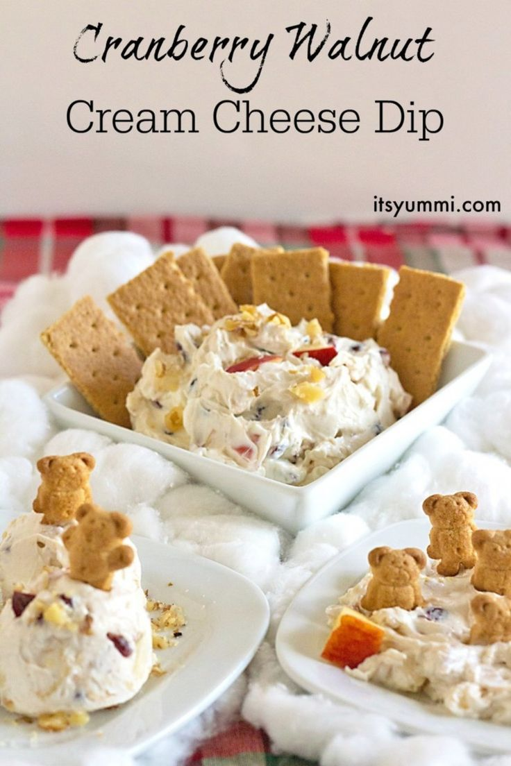 cranberry walnut cinnamon cream cheese dip recipe cream cheese