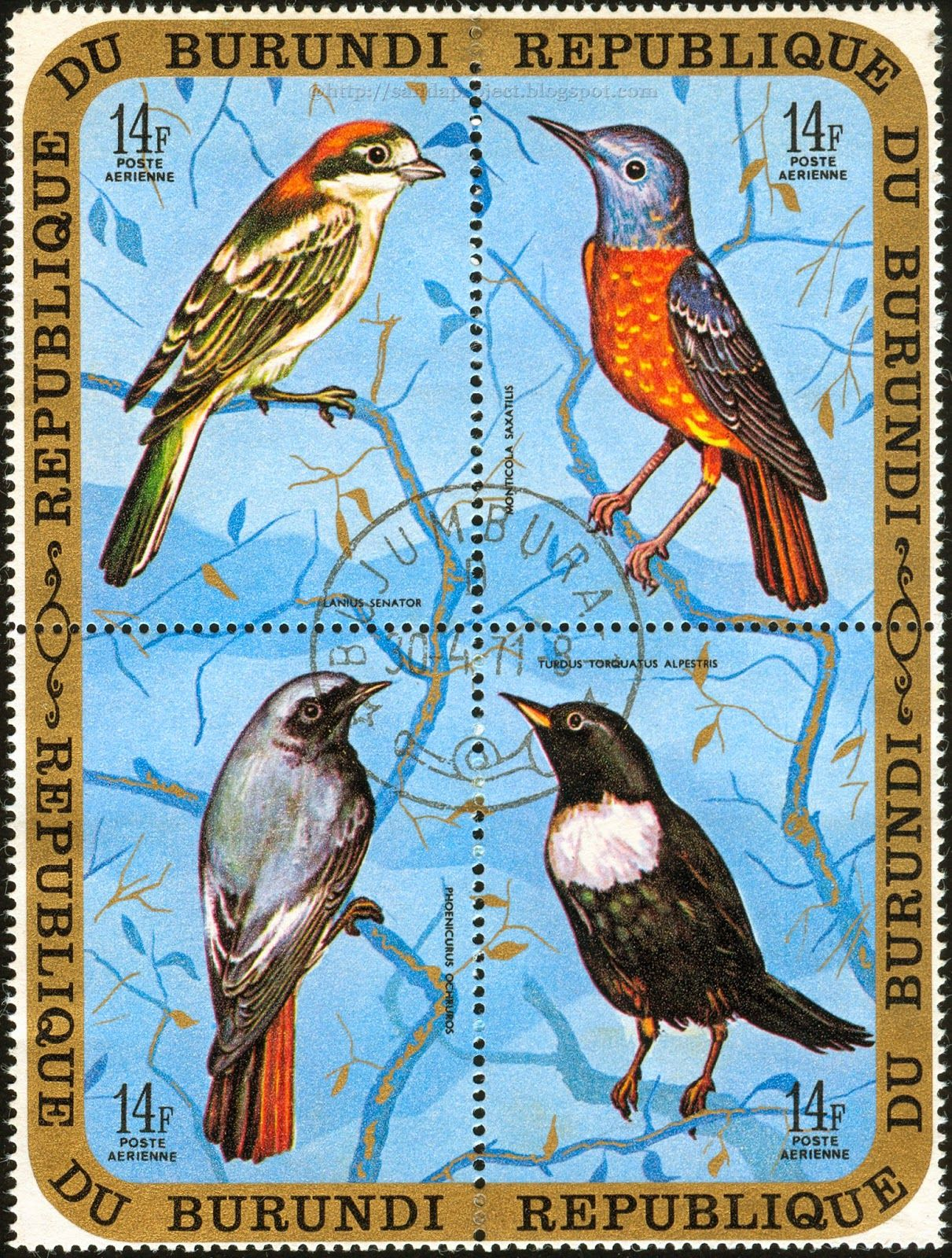 Postage stamps and postcards