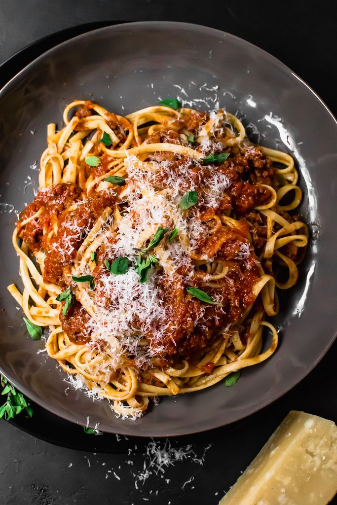 Traditional Bolognese Sauce Recipe with Gorund Pork and Beef