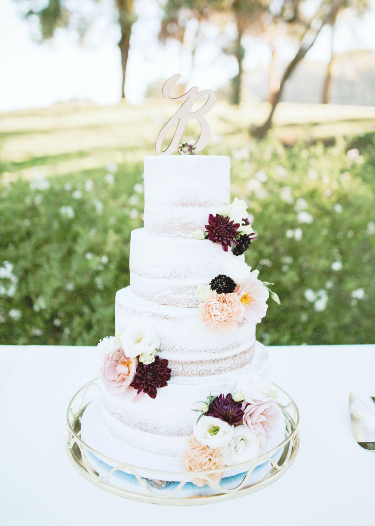 wedding cake topper letter monogram party cake topper