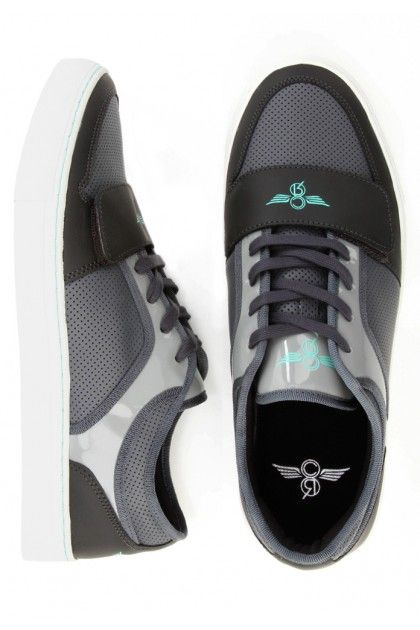 Creative Recreation Cesario Lo X Shoes - Smoke Charcoal Grey $80.00