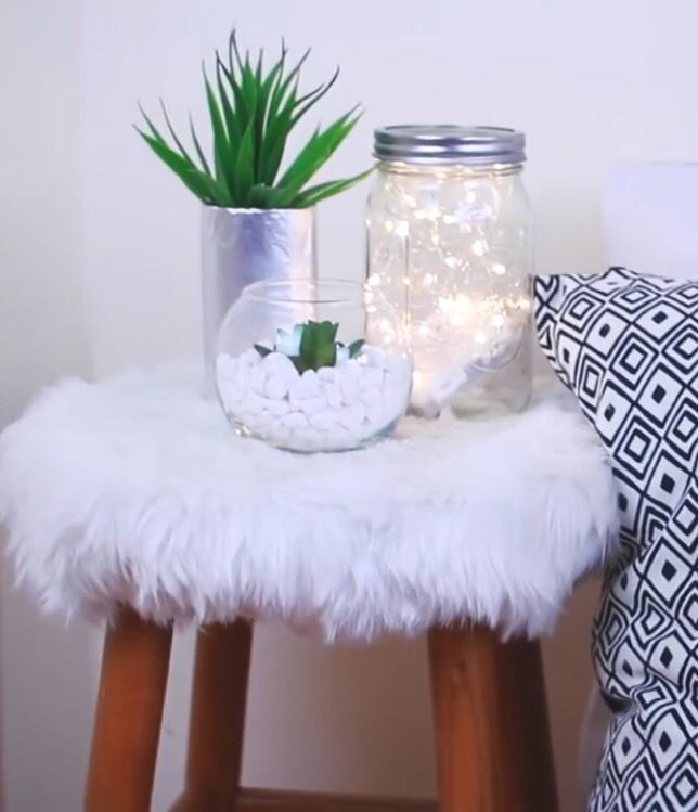 Diy tumblr nightstand pinteres - Bedroom decorations diy ...