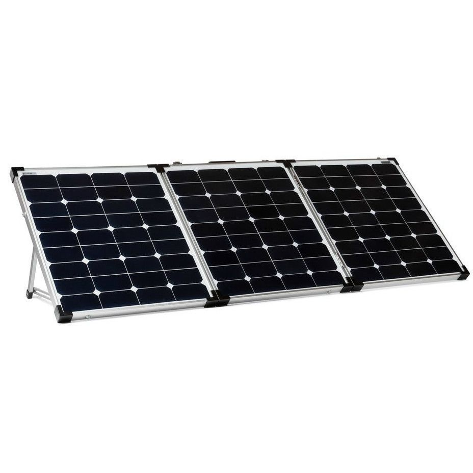 Overland Solar 150 Watt Portable 3 Panel Folding Solar Kit Best Solar Panels Solar Panel Cost Solar Kit