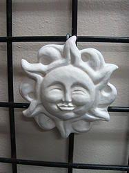 SMALL SUN $3.00 - HOME DECOR & GARDEN DECOR