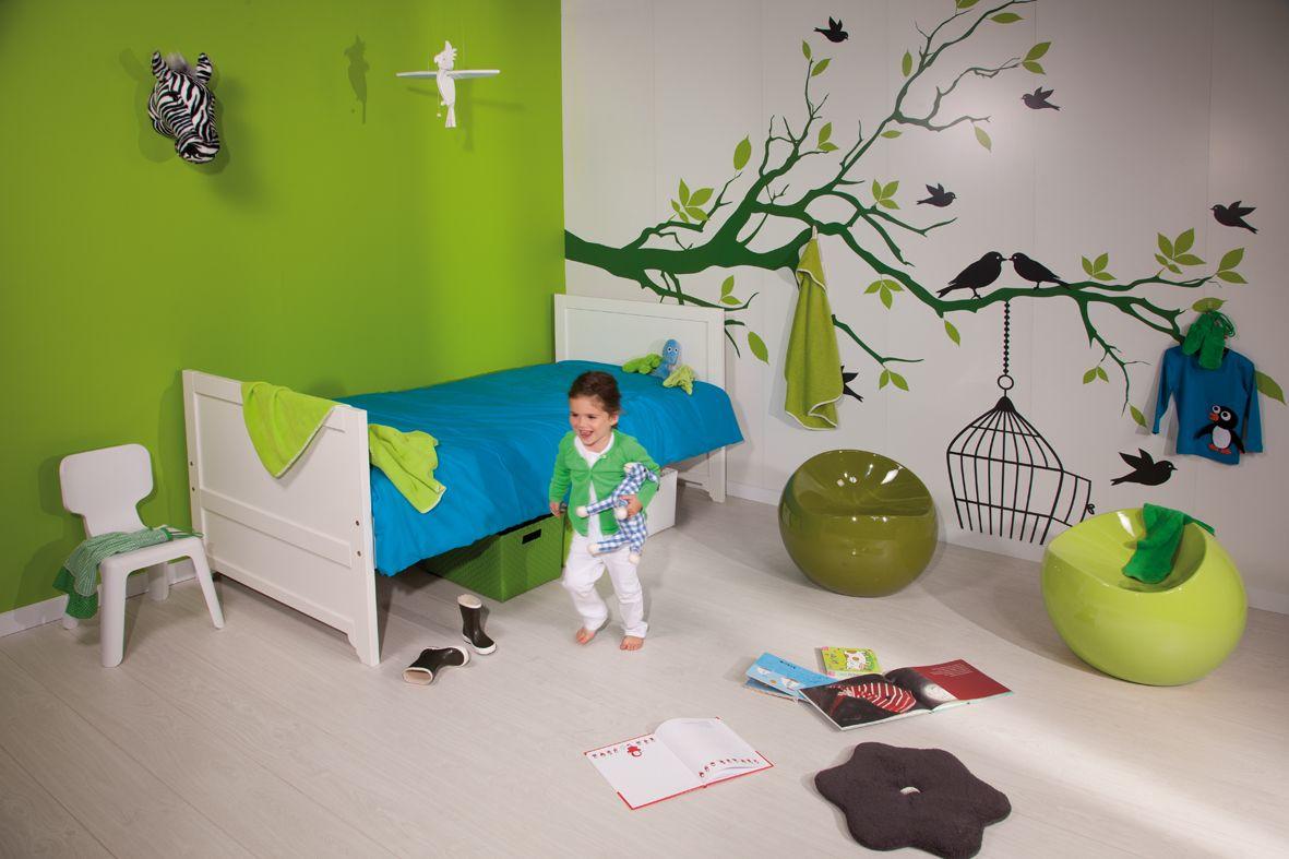 Kleurrijke kinderkamer voor boom voor de gang kids interior pinterest for Schilderen voor gang d