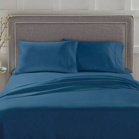 Better Homes And Gardens 300 Thread Count 100% Cotton Sheet Set, Blue