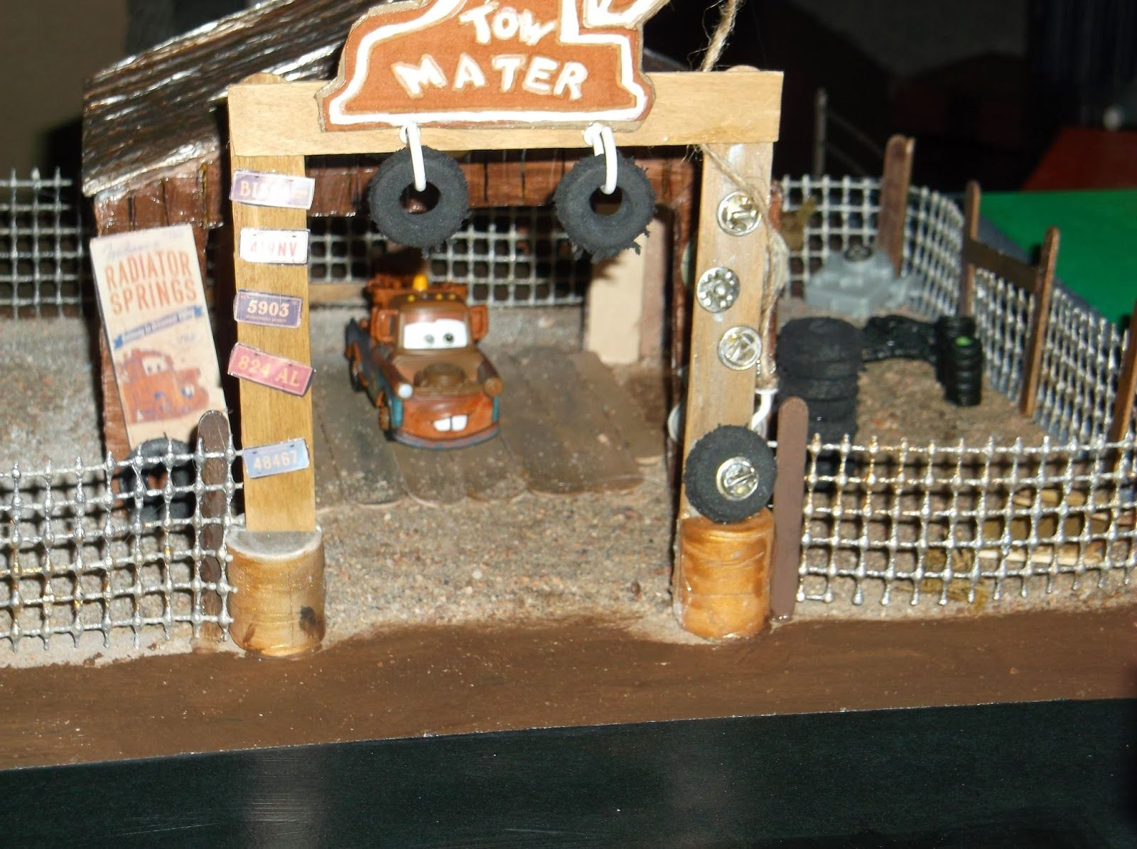 Radiator Springs playset diorama!: Parts 1,2, and 3 - Some brilliant ...