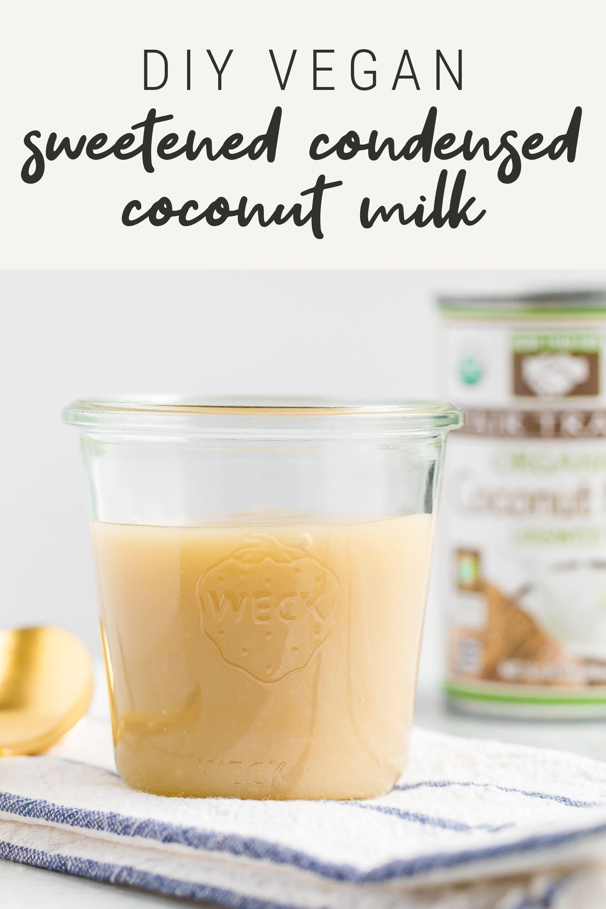 Sweetened Condensed Coconut Milk Vegan Eating Bird Food Recipe In 2020 Condensed Coconut Milk Paleo Coconut Milk Holistic Nutrition Recipes