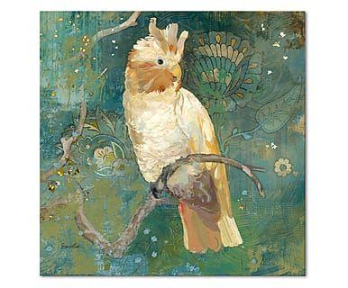 Leinwandbild Cockatoo Perched