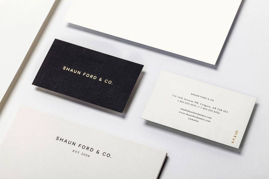 New Brand Identity for Shaun Ford & Co. by Savvy - BP&O | Detail ...