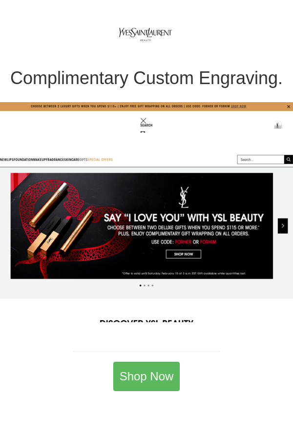 Best deals and coupons for YSL Beauty Canada in 2020 Ysl