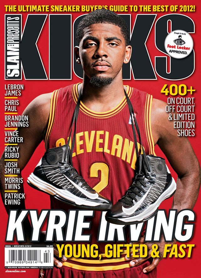Kyrie Irving cover for Kicks 15: he needs to bring his talents to south  beach