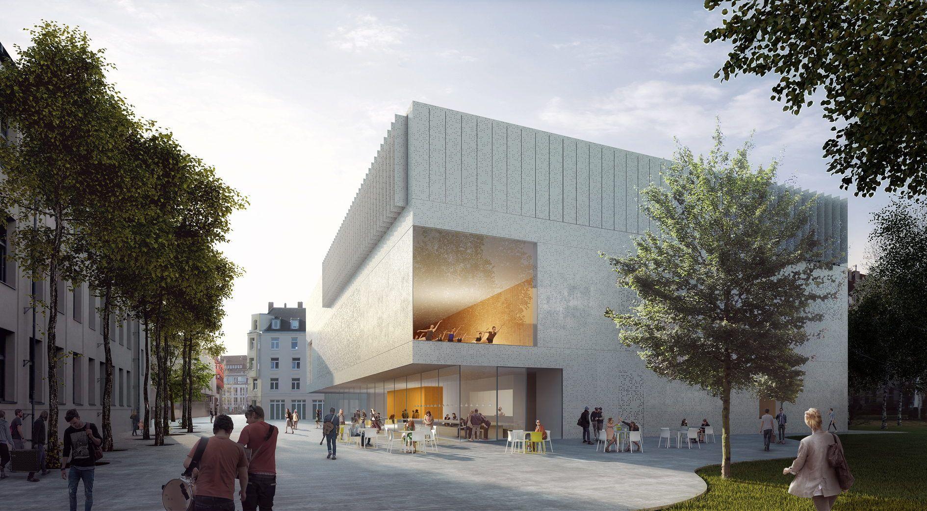 Architektur Köln erweiterung der musikhochschule hpp gewinnen wettbewerb in köln