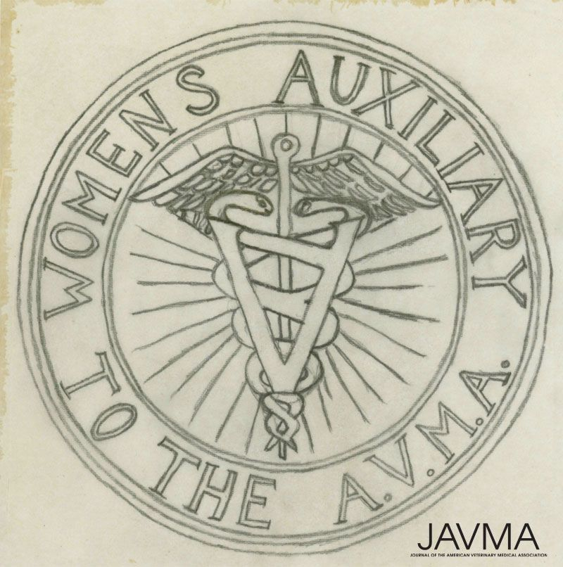 The Women's Auxiliary to the AVMA was established in 1917