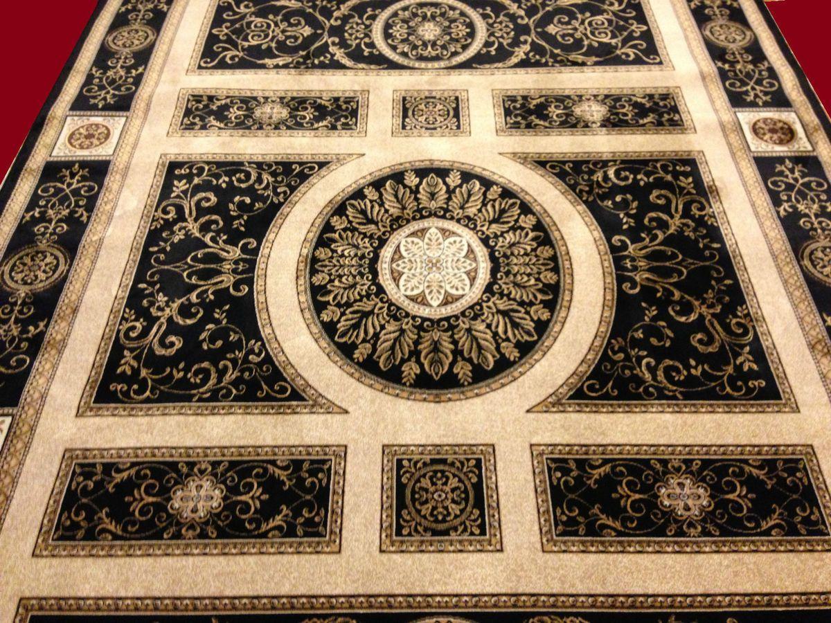 Versac Medusa Design Seiden Teppich Kunstseide 200x290 Orient Zeus