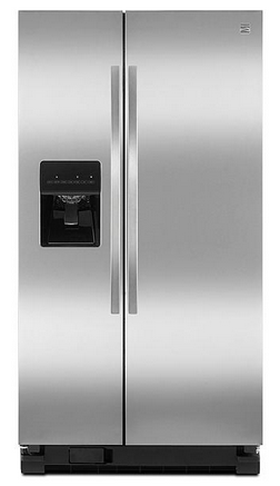 #Sears: Kenmore 50023 25 cu. ft. Side-by-Side Refrigerator - Stainless Steel $899.99 FS @ Sears #LavaHot http://www.lavahotdeals.com/us/cheap/kenmore-50023-25-cu-ft-side-side-refrigerator/68590