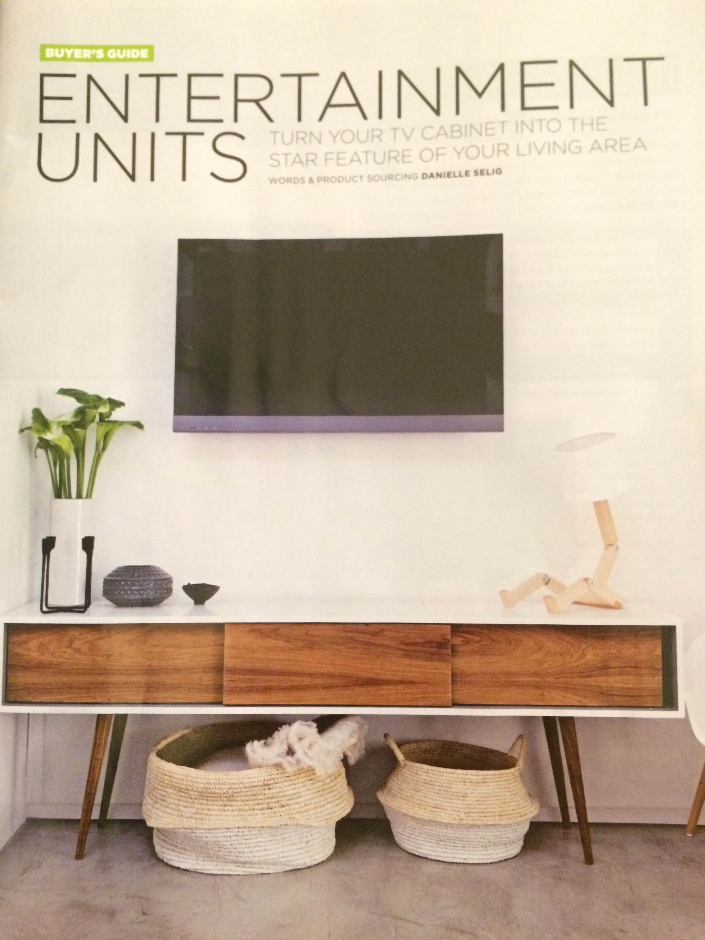 Want Wall Mounted Television Furniture Like Scandinavian Retro Style Entertainment Unit Raised Off F Furniture Entertainment Room Decor Entertainment Room