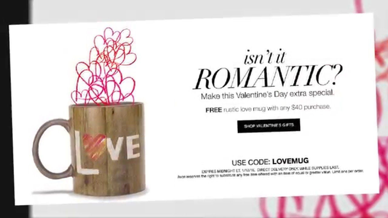 Avon valentines day gift guide specials and sales free